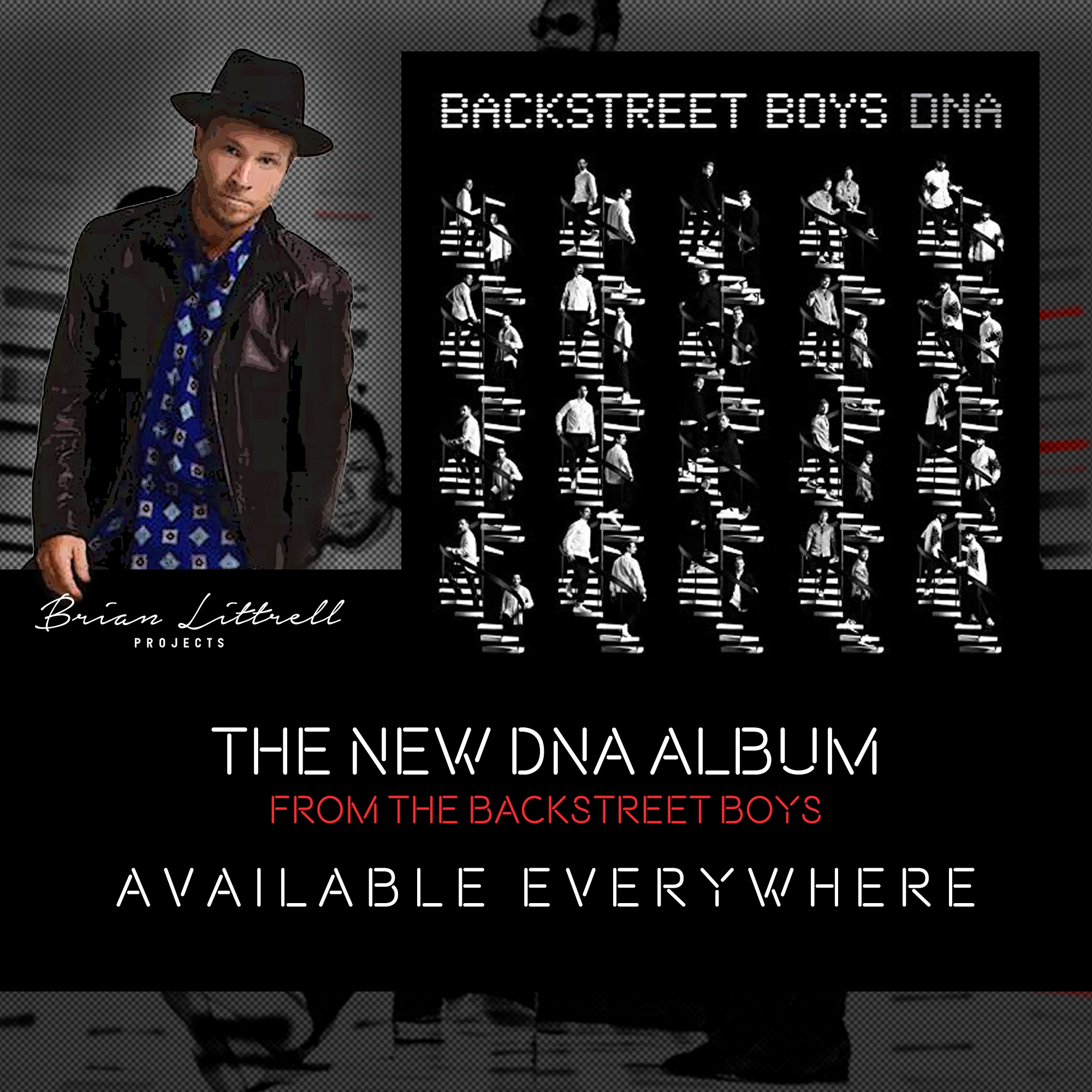 The new #DNA album from the Backstreet Boys available NOW